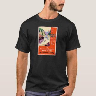 Yangtze sättigt China-Vintage Reise T-Shirt