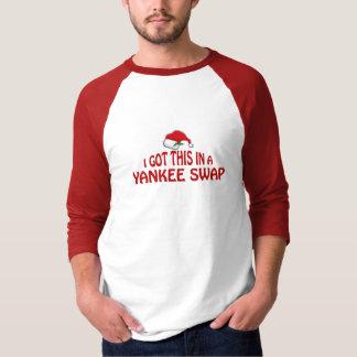 Yankee-Tauschen-Geschenk - Weihnachtsmannmütze T-Shirt