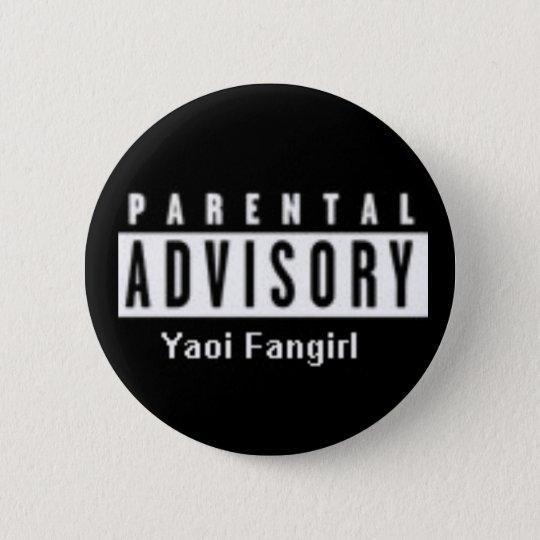 yaoi fangirl runder button 5,7 cm