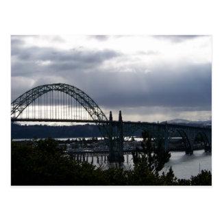 Yaquina Bucht-Brücke Postkarte