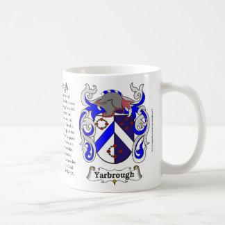 Yarbrough, der Ursprung, die Bedeutung und das Kaffeetasse