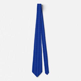 YarnIt Blau Personalisierte Krawatten