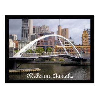 Yarra Flusspostkarte Postkarte