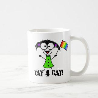 Yay 4 Homosexuell-Tasse Kaffeetasse