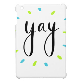 YAY Shirts, Zusätze, Geschenk iPad Mini Hülle