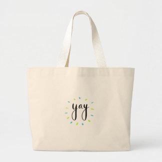 YAY Shirts, Zusätze, Geschenk Jumbo Stoffbeutel