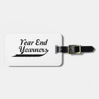 year end yearners kofferanhänger