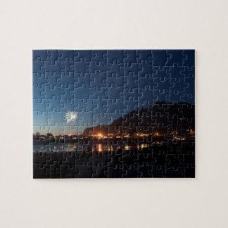 Yechats Oregon, 4. der Juli-Feuerwerks-Dämmerung Puzzle