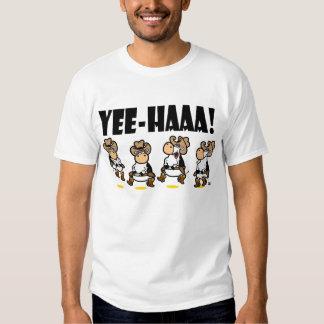Yee-HAA! Linedancing Kühe Tshirts