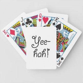 Yee-hah! Bicycle Spielkarten