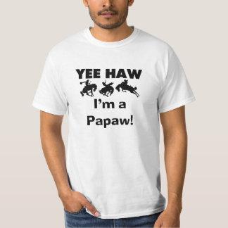 Yee Haw bin ich eine Papaya-Frucht T-Shirts und
