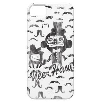 Yee- Haw-doof Charaktere mit den Schnurrbärten iPhone 5 Schutzhülle