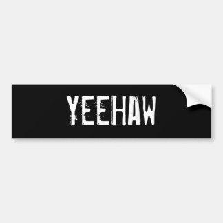 YeeHaw Autoaufkleber