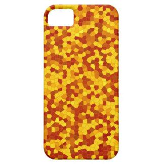 yellow-brown mosaic iPhone 5 schutzhüllen