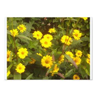 yellow Flowers Karte