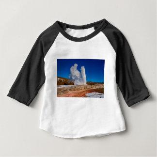 Yellowstone-altes zuverlässiges baby t-shirt