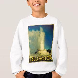 Yellowstone-altes zuverlässiges sweatshirt