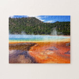 Yellowstone-Farben-Töpfe Puzzle
