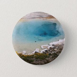 Yellowstone-Frühling Runder Button 5,1 Cm
