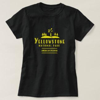 Yellowstone Nationalpark - Amerikaner Sploosh T-Shirt