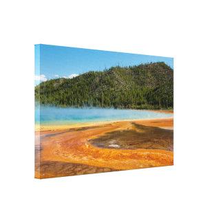 Yellowstone Nationalpark großartiger prismatischer Leinwanddruck