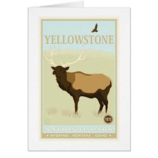 Yellowstone Nationalpark Karte