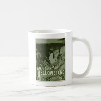 Yellowstone Nationalpark Plakat-Tasse Kaffeetasse