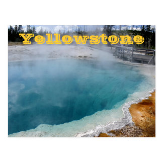 Yellowstone Nationalpark Postkarten