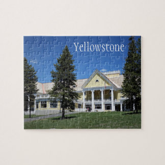 Yellowstone Nationalpark Puzzlespiel Puzzle