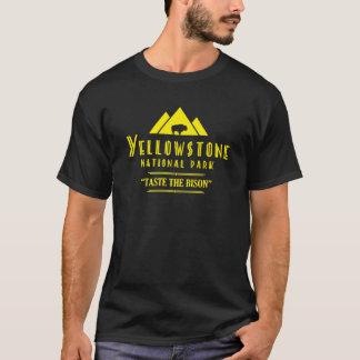 Yellowstone Nationalpark - schmecken Sie den Bison T-Shirt