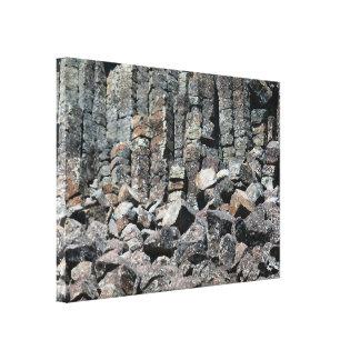 Yellowstone Nationalpark Sheepeater Klippe Leinwanddruck