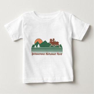 Yellowstone-Park Baby T-shirt