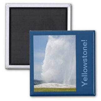 Yellowstone Quadratischer Magnet