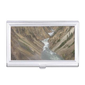 Yellowstone River Visitenkarten Etui