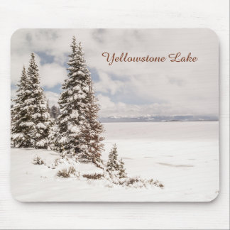 Yellowstone See in Yellowstone Nationalpark Mousepad