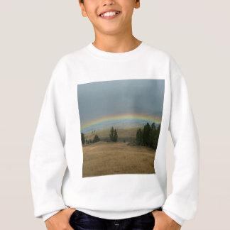 Yellowstone-Sonnenuntergang-Regenbogen Montana Sweatshirt