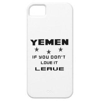 Yemen, wenn Sie nicht Liebe es tun, verlassen Barely There iPhone 5 Hülle