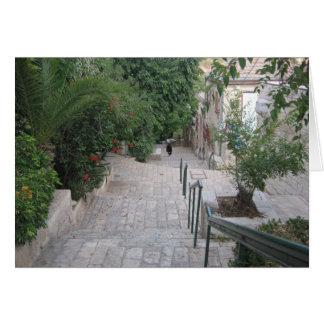 Yemin Moshe Jerusalem Karte