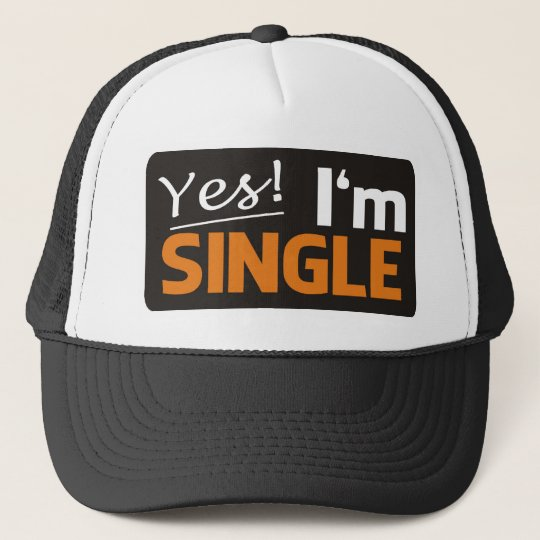 Yes i'm single truckerkappe