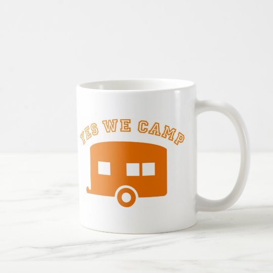 Yes we camp! kaffeetasse