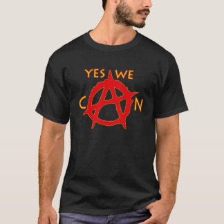 Yes We Can - Yellow T-Shirt