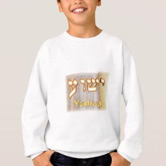 Yeshua auf Hebräer Sweatshirt