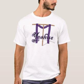 Yeshua mit Stange (Kreuz) T-Shirt