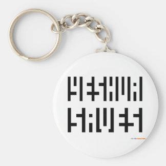 Yeshua rettet Logo Schlüsselanhänger