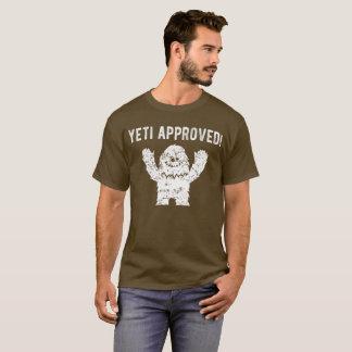 Yeti-anerkannter lustiger Bigfoot-T - Shirt