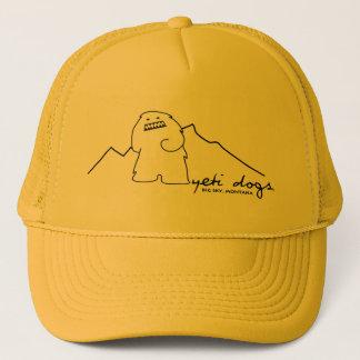 Yeti-einziger Höchstfernlastfahrer-Hut (dunkles Truckerkappe
