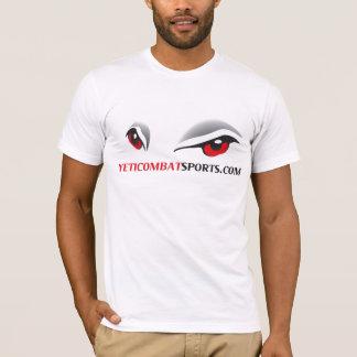 Yeti-Kampf-Sportlogo-T - Shirt
