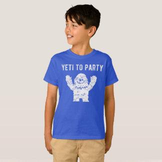 Yeti Partyzum abscheulicher Snowman-Shirt T-Shirt