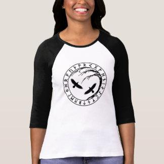 Yggdrasil Baum des Leben-Damen-Crew-Shirts T-Shirt
