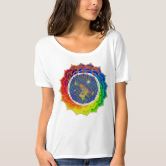 YHWH BEDECKT EARTH~Canvas Slouchy T - Shirt